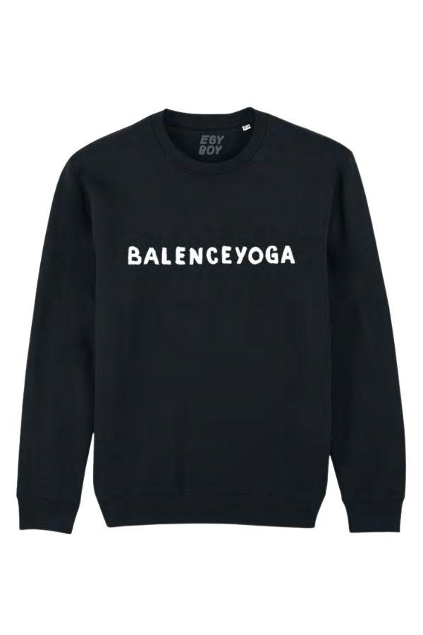 BALENCEYOGA SWEAT BK
