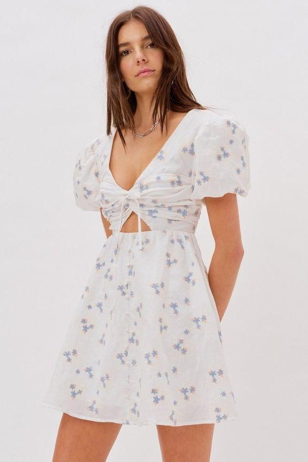 CALLIE SWING DRESS