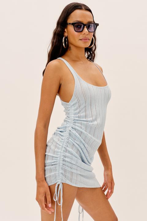 RHEA POINTELLE DRESS
