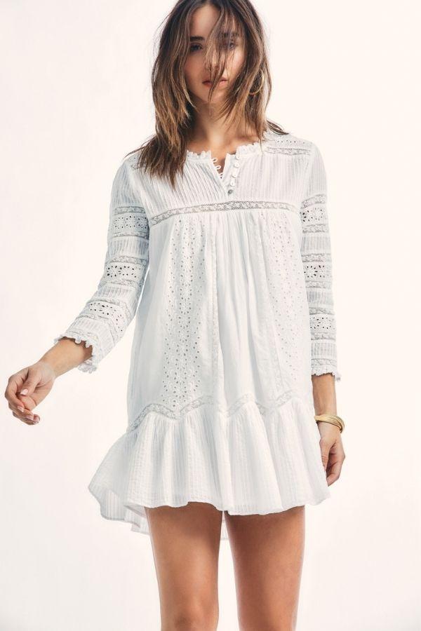 TOLEDA DRESS WH